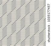 vector seamless pattern. modern ... | Shutterstock .eps vector #1035177457