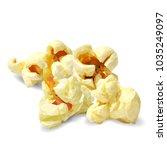 tasty popcorn. elements for... | Shutterstock .eps vector #1035249097