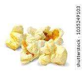 tasty popcorn. elements for... | Shutterstock .eps vector #1035249103