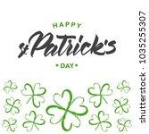 vector illustration  greeting... | Shutterstock .eps vector #1035255307