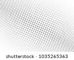 abstract halftone wave dotted... | Shutterstock .eps vector #1035265363
