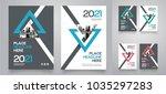 city background business book... | Shutterstock .eps vector #1035297283