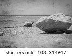 old photo beautiful seashore... | Shutterstock . vector #1035314647