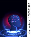 artificial intelligence ... | Shutterstock .eps vector #1035321487