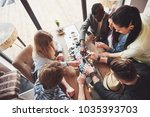top view creative photo of...   Shutterstock . vector #1035393703