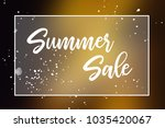 summer sale promotion label or... | Shutterstock . vector #1035420067