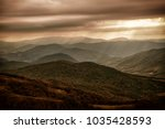 bieszczady   mountains in... | Shutterstock . vector #1035428593