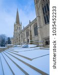 wakefield cathedral  cathedral... | Shutterstock . vector #1035452233