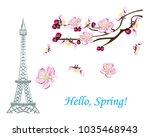 Romantic Spring Illustration I...