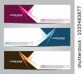 vector design banner... | Shutterstock .eps vector #1035483877