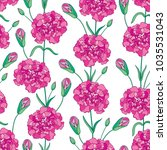 vector seamless pattern with... | Shutterstock .eps vector #1035531043