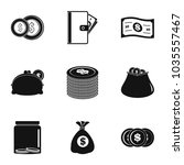 issue icons set. simple set of...   Shutterstock .eps vector #1035557467