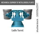mechanical equipment of... | Shutterstock .eps vector #1035562597