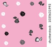 floral colorless  motifs ... | Shutterstock .eps vector #1035631993