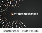 abstract salute with white and... | Shutterstock .eps vector #1035641383