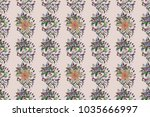can be used as greeting or... | Shutterstock . vector #1035666997