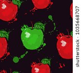 vector abstract illustration... | Shutterstock .eps vector #1035668707