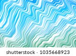 light blue  green vector... | Shutterstock .eps vector #1035668923