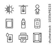 icons camera with camera... | Shutterstock .eps vector #1035698233