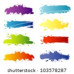 vector illustration of splash... | Shutterstock .eps vector #103578287