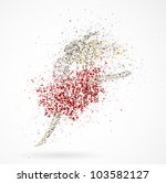 Abstract Image Of A Dancing...