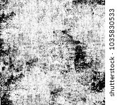 grunge texture black and white. ... | Shutterstock . vector #1035830533
