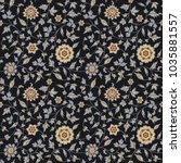 amazing seamless floral pattern ...   Shutterstock . vector #1035881557