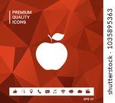 apple icon symbol   Shutterstock .eps vector #1035895363