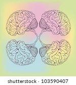 brain | Shutterstock .eps vector #103590407