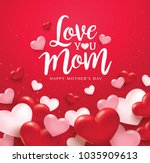 happy mother's day greetings...   Shutterstock .eps vector #1035909613