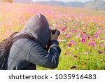 photographer take a photo in... | Shutterstock . vector #1035916483
