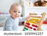 Cute Little Baby Boy  Playing...