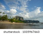 krabi thailand   2 feb 2018 ... | Shutterstock . vector #1035967663