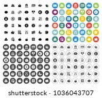 banking icons set   business ... | Shutterstock .eps vector #1036043707