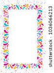 feast vector frame art graphics ... | Shutterstock .eps vector #1036066213