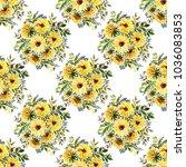 watercolor seamless pattern ... | Shutterstock . vector #1036083853