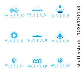 fresh mineral water design... | Shutterstock .eps vector #1036120453