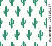 vector seamless simple pattern... | Shutterstock .eps vector #1036151197