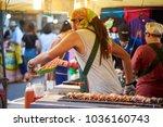krabi  thailand   jan 28  2018  ... | Shutterstock . vector #1036160743