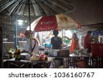 krabi  thailand   jan 28  2018  ... | Shutterstock . vector #1036160767
