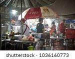 krabi  thailand   jan 28  2018  ... | Shutterstock . vector #1036160773
