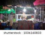 krabi  thailand   jan 28  2018  ... | Shutterstock . vector #1036160833
