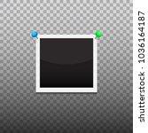 single photo frame vector... | Shutterstock .eps vector #1036164187