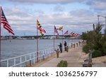 scenes of ocean city  maryland... | Shutterstock . vector #1036256797