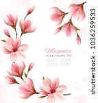 abstract spring background with ... | Shutterstock .eps vector #1036259533