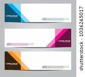 vector design banner...   Shutterstock .eps vector #1036265017