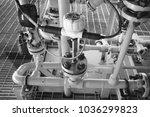 coriolis flow meter or mass... | Shutterstock . vector #1036299823