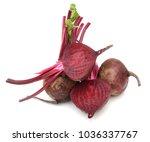 fresh beet root uncooked | Shutterstock . vector #1036337767