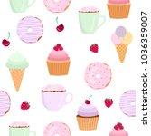 sweets vector illustration...   Shutterstock .eps vector #1036359007