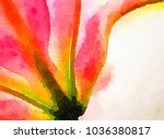 nice original watercolor... | Shutterstock . vector #1036380817